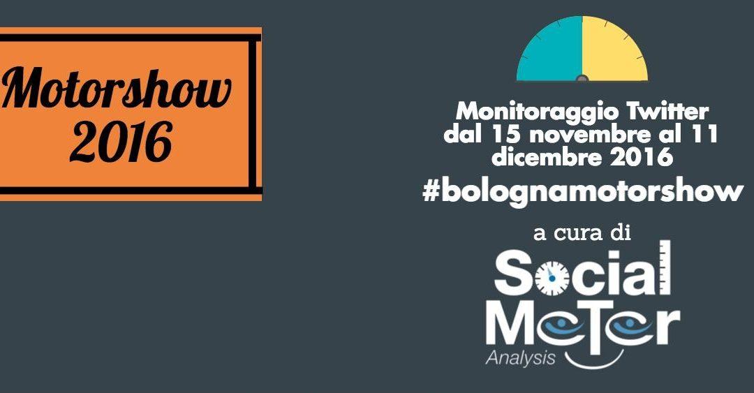 Motorshow 2016: centinaia di auto, moto e tweets per la quarantesima edizione