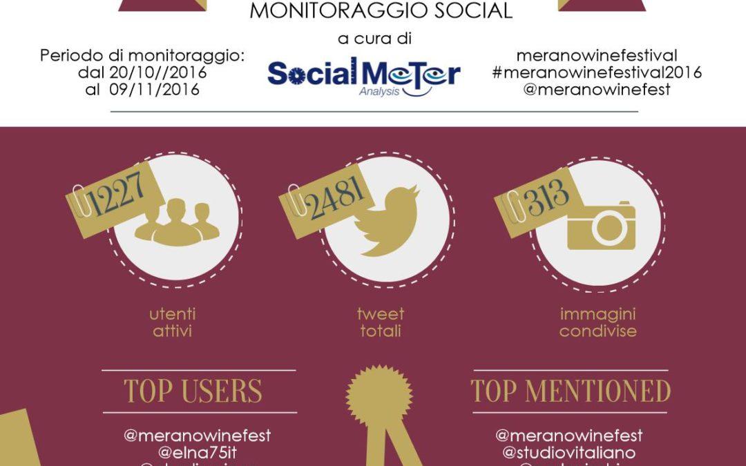 Merano Wine Festival: anche l'enogastronomia è social