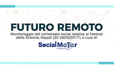 "#FuturoRemoto: SocialMeter Analysis e Sharp insieme per ""connettere"""
