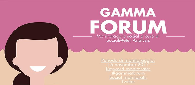 Tutti i dati social di GammaForum: il Forum Nazionale dell'Imprenditoria Femminile e Giovanile
