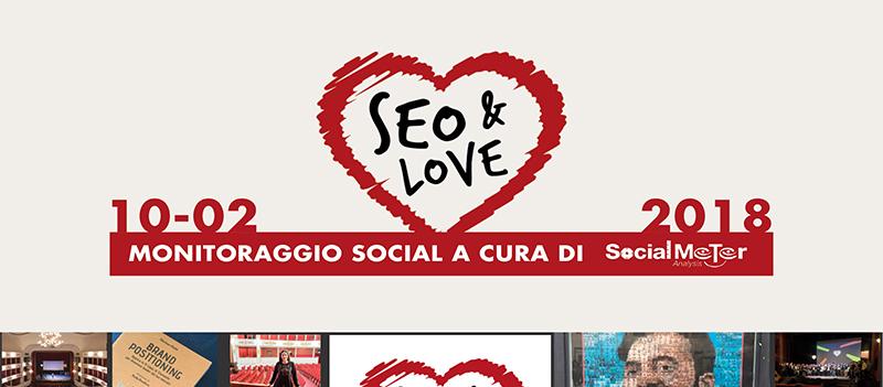 Monitoraggio social di SEO&Love, a cura di SocialMeter Analysis