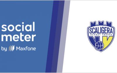 Scaligera Basket Verona e SocialMeter: lo sport all'insegna della tecnologia
