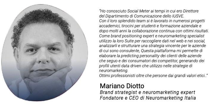 Testimonianza di Mariano Diotto