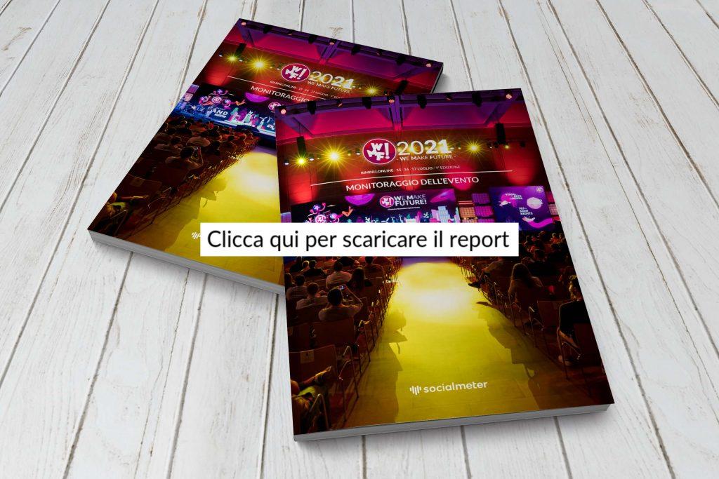 Mockup del report realizzato per il WMF2021